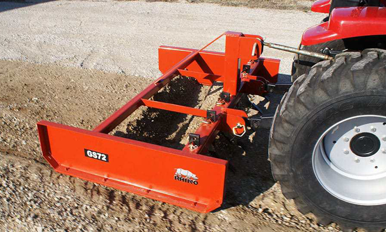 Compact Tractor with Attachments