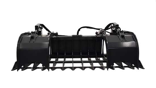 Root Grapples Skid Steer Attachments