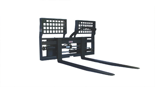 Sliding Pallet Forks Skid Steer Attachments