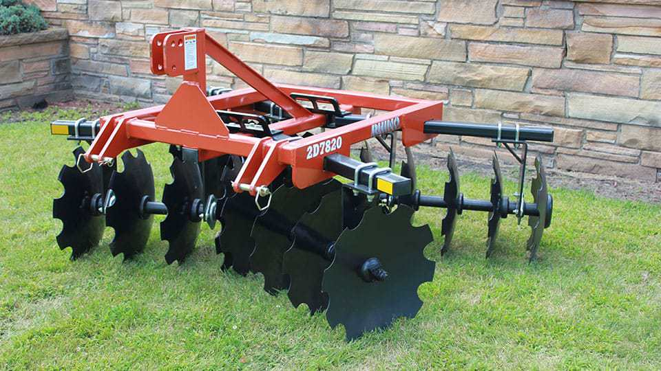 Disc Tractor Attachments