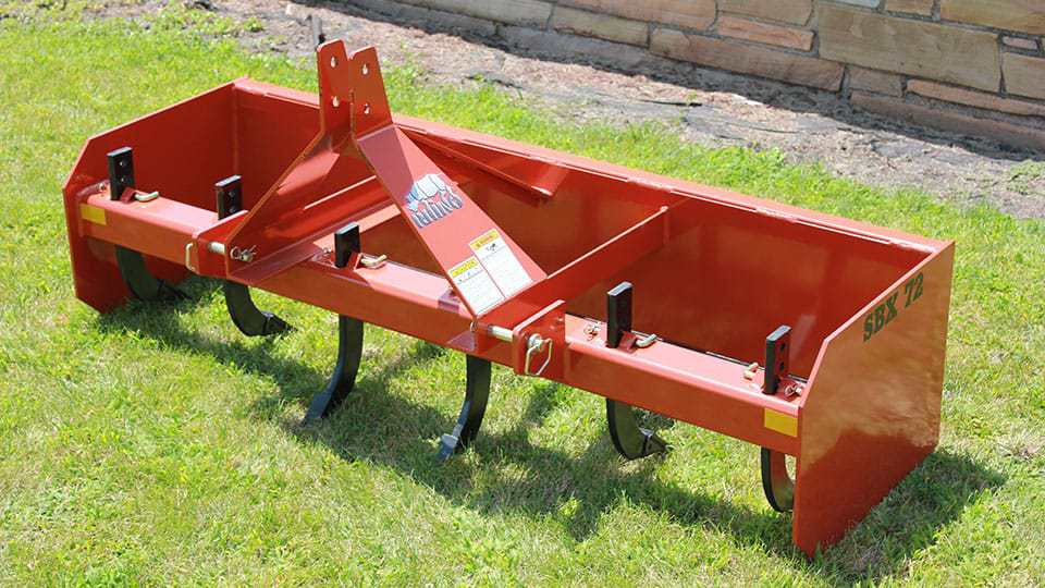 Box Blade Tractor Attachments