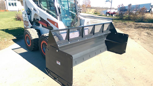 Snow Pusher Skid Steer Attachments